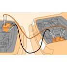 Cách câu dây kích nổ từ xe ô tô khác khi hết Ac quy