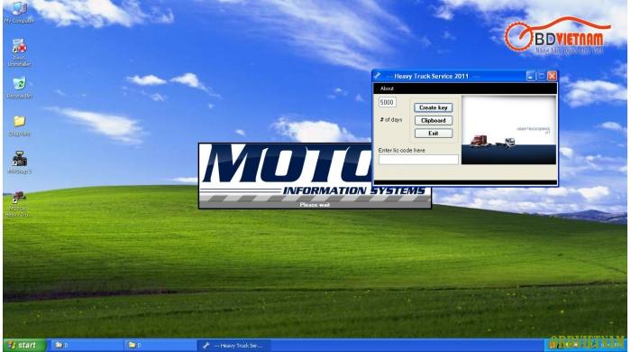 Phần Mềm sửa chữa xe đầu kéo (Motor Heavy Truck Service 2011)
