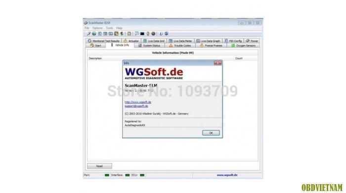 Phần mềm chẩn đoán  ELM 327 2.1 & 11.3