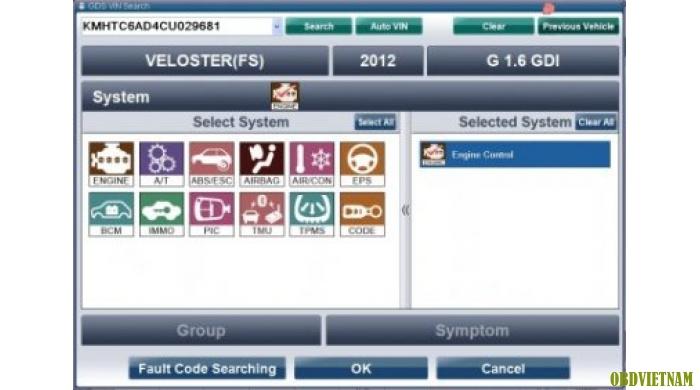 Phần mềm chẩn đoán  HYUNDAI GDS  2015