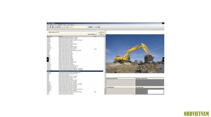 Phần mềm tra mã phụ tùng KOBELCO  POWERVIEW 2012