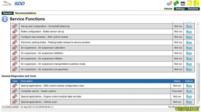 Phần mềm chẩn đoán  Landrover ids v139