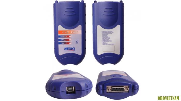 Máy đọc lỗi đầu kéo NEXIQ 125032 USB LINK + Software Diesel Truck Diagnose