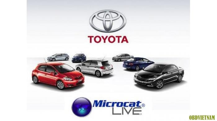 Phần mềm tra mã phụ tùng TOYOTA MICROCAT LIVE 01/2015