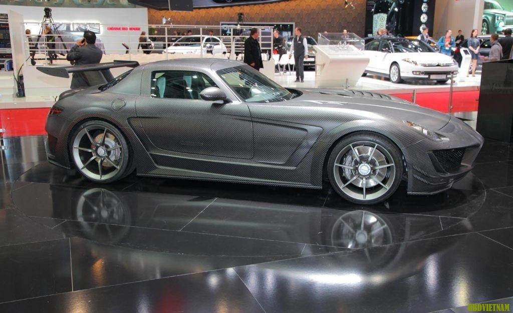 Tìm hiểu hệ thống truyền động của Mercedes SLS AMG chạy điện